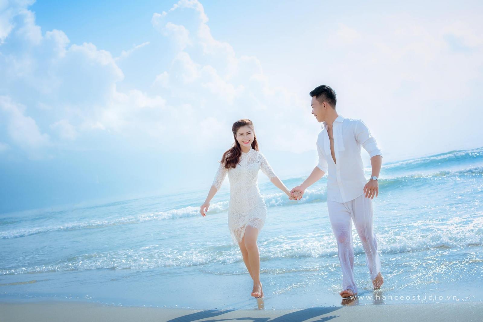 Chụp ảnh cưới ngoại cảnh biển đà nẵng